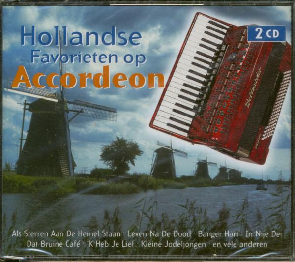 Hollandse Favorieten Op Accordeon (2-CD)