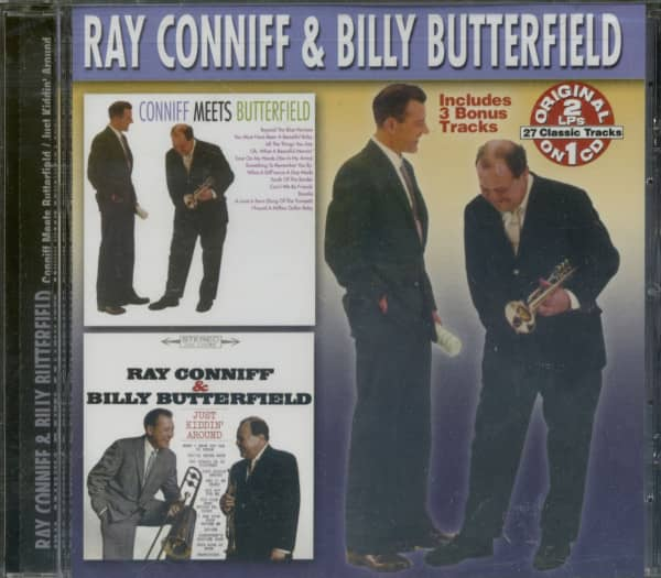 Conniff Meets Butterfield - Just Kiddin'...plus (CD)
