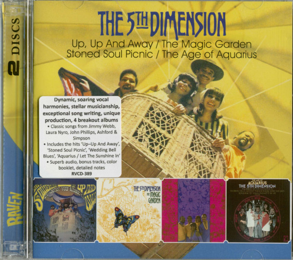 Up, Up And Away - The Magic Garden - Stoned Soul Picnic - The Age Of Aquarius (2-CD)
