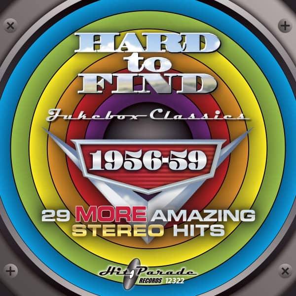Hard to Find Jukebox Classics 1956-59 (CD)