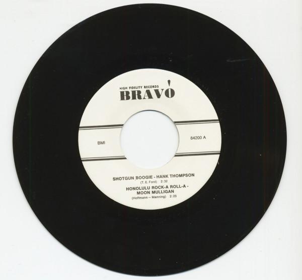 Shotgun Boogie - Honolulu Rock-A Roll-A (7inch, EP, 45rpm)