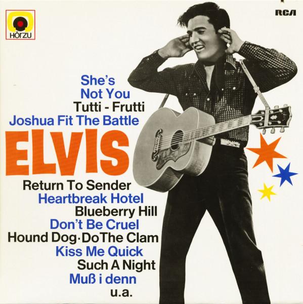 Golden Boy Elvis (LP)