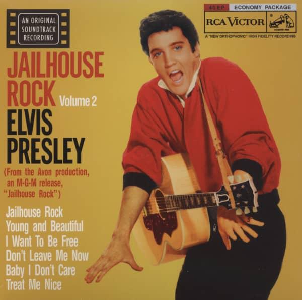 Jailhouse Rock, Vol.2 ...plus (2-CD, 7inch Digipac)