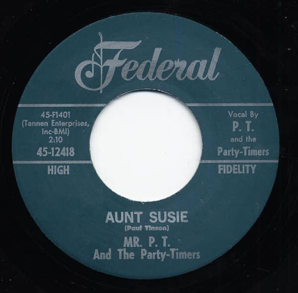 Crazy Sadie b-w Aunt Susie 7inch, 45rpm