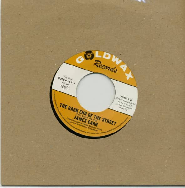 The Dark End Of The Street - You've Got My Mind Messed Up (7inch, 45rpm)