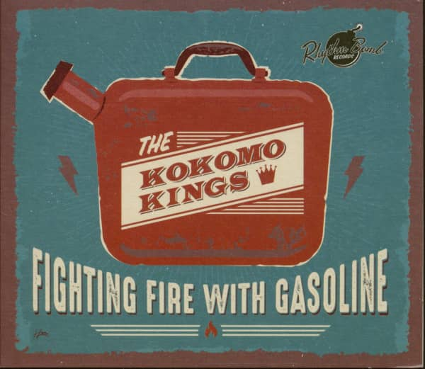 Fighting Fire With Gasoline (CD)