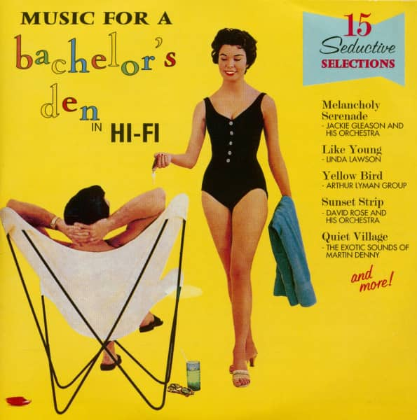 Music For A Bachelor's Den Vol.1 - In Hi-Fi (CD)