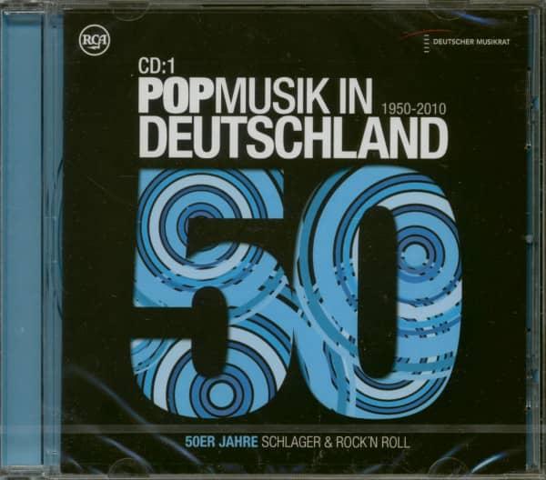 Popmusik In Deutschland 1950-2010 - 50er Jahre Schlager & Rock´N Roll (CD)