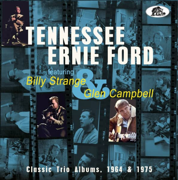 Classic Trio Albums, 1964 & 1975 featuring Billy Strange and Glen Campbell (CD)