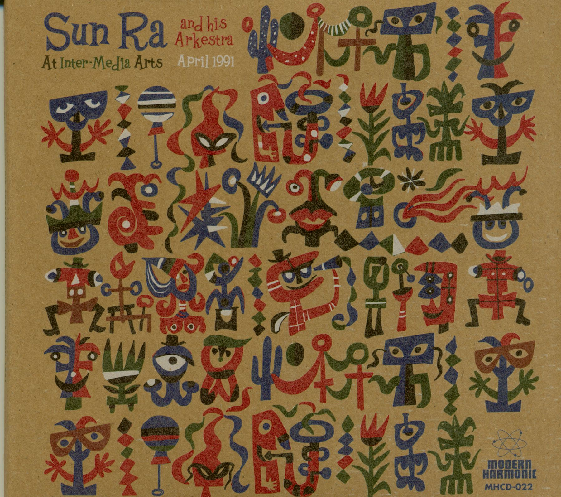 Sun Ra & His Arkestra LP : Live At Inter-Media Arts (3-LP) - Bear Family Records