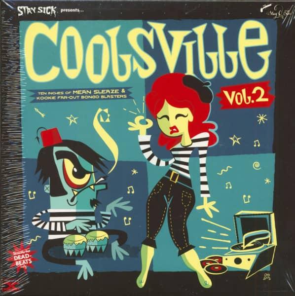 Coolsville Vol.2 (LP, 10inch)