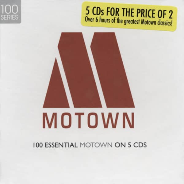 Essential Motown (5-CD)