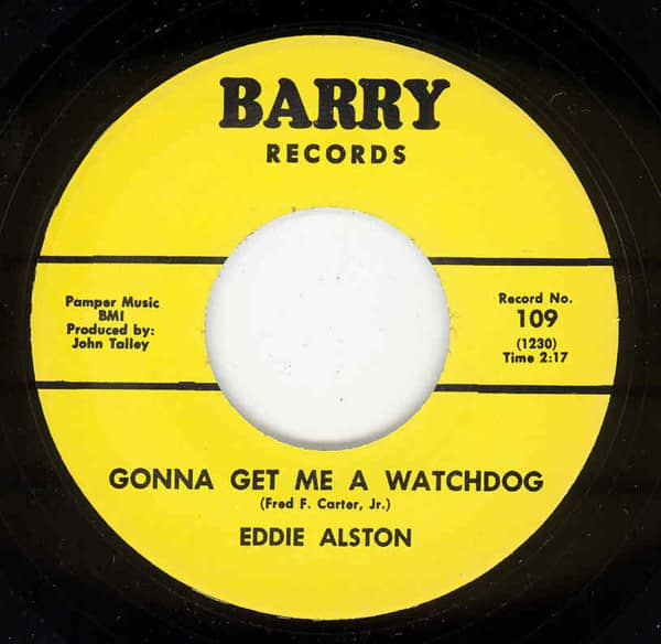 Gonna Get Me A Watchdog - I Just Can't... 7inch, 45rpm