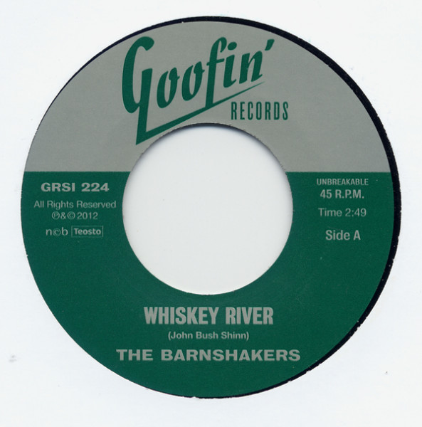 Whiskey River - Hollow Grave 7inch, 45rpm Ltd.(500