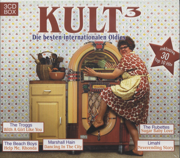 Kult 3 - Internationale Oldies (3-CD)