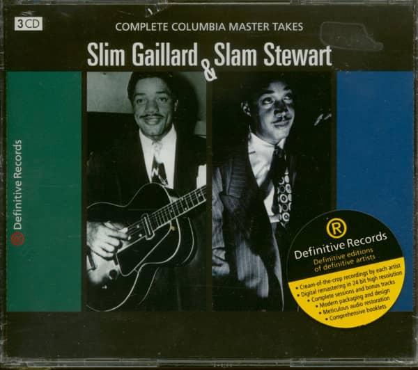 Slim & Slam - Complete Columbia Master Takes (3-CD)
