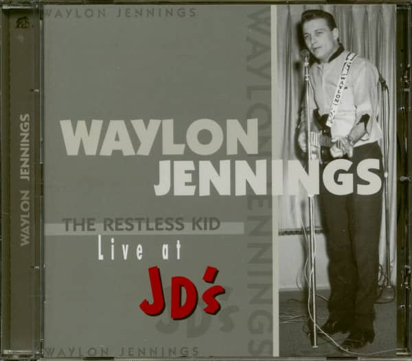 The Restless Kid, Live at JD's (CD)