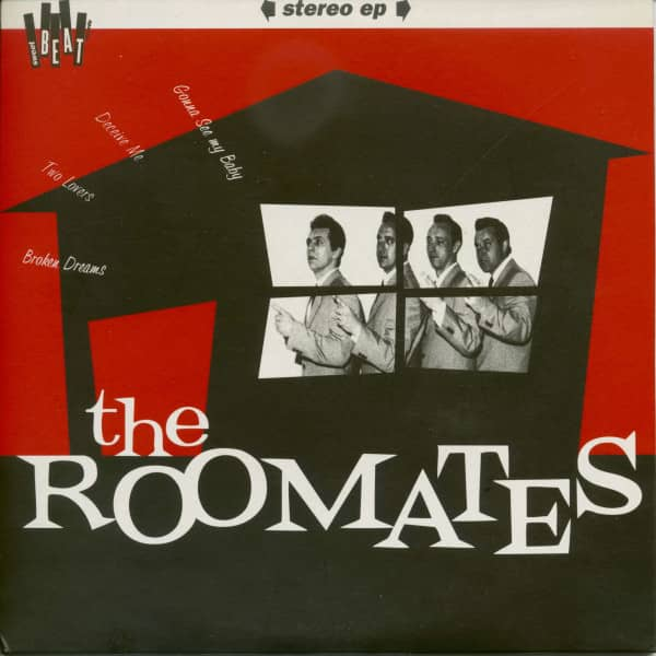 The Roomates (7inch, EP, 45rpm, PS, SC)