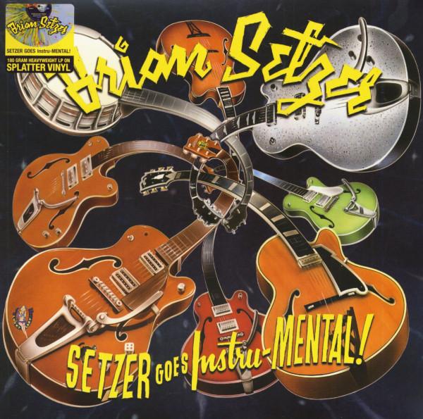 Setzer Goes Instru-Mental (LP, 180g Colored Vinyl)