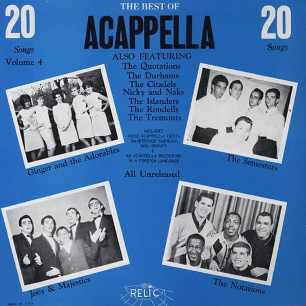 The Best Of Acappella Vol.4 (LP)