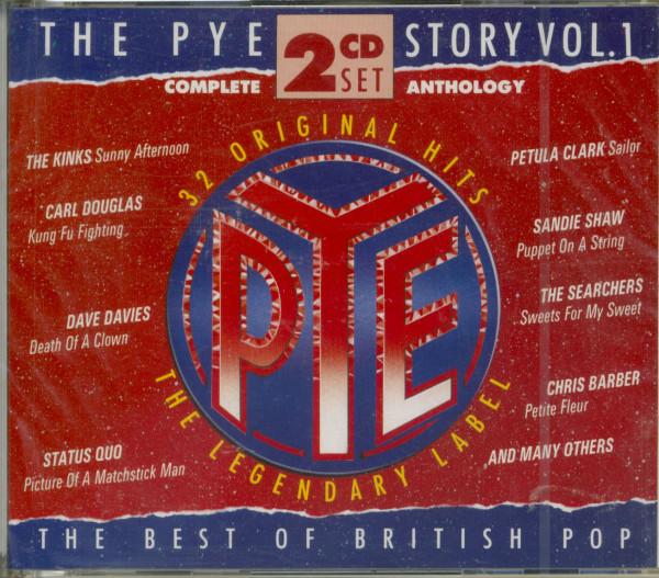 Vol.1, The Pye Story - British Pop 2-CD