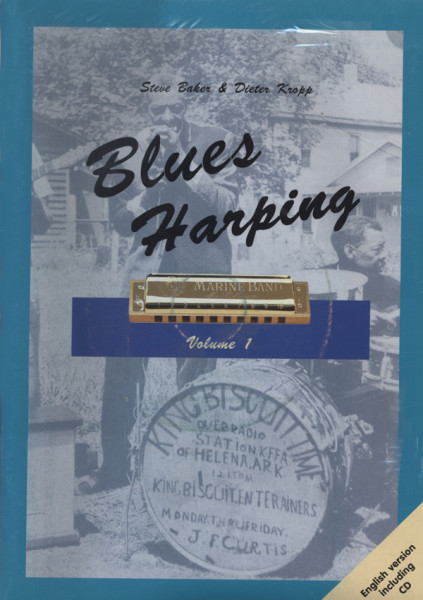 Blues Harping Vol.1 - English (Book+CD)