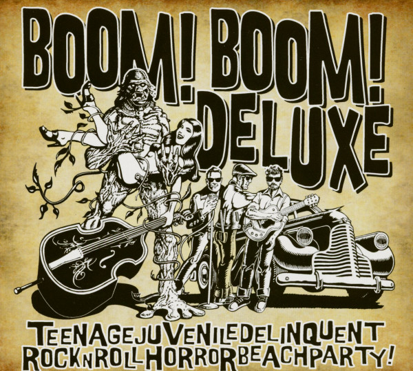 Teenagejuveniledelinquentrocknrollhorrorbeachparty (CD, Ltd.)