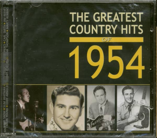 The Greatest Country Hits Of 1954 (2-CD)