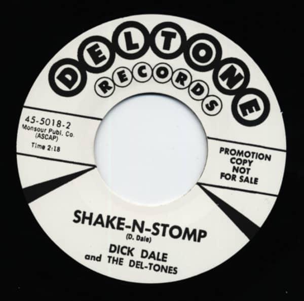 Skake-N-Stomp b-w Jungle Fever 7inch, 45rpm