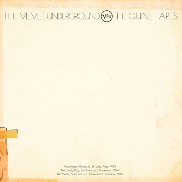 The Velvet Underground - The Quine Tapes 6-LP