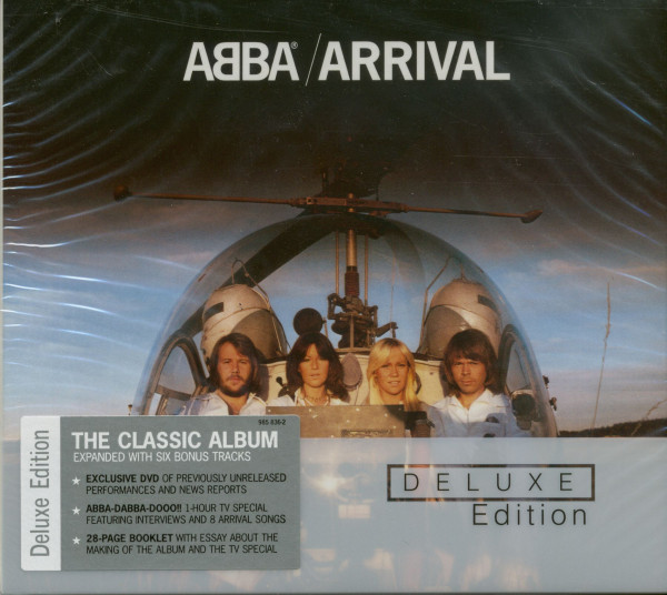 Abba & Arrival (Deluxe Edition, 1-CD,1-DVD)