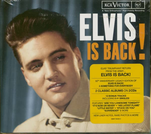 Elvis Is Back...plus-Legacy Edition (2-CD) EU