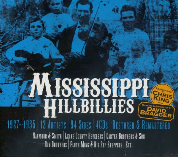 Mississippi Hillbillies (4-CD)
