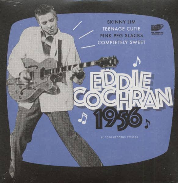 Eddie Cochran 1956 (7inch, EP, 45rpm, PS)