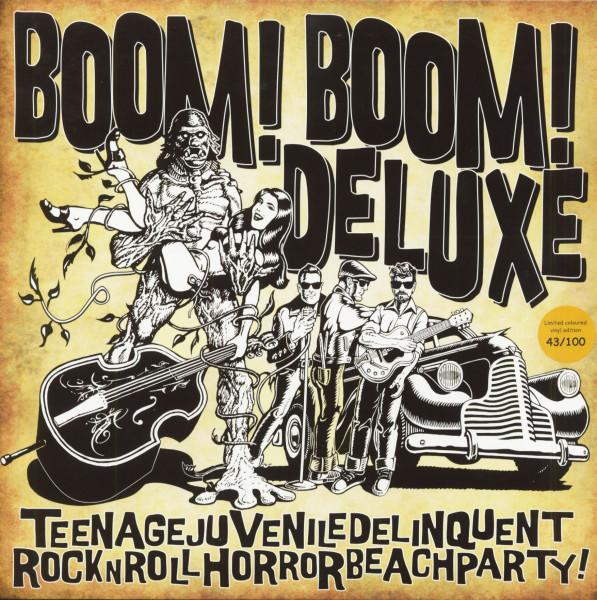 Teenagejuveniledelinquentrocknrollhorrorbeachparty (LP, Colored Vinyl, Ltd.)