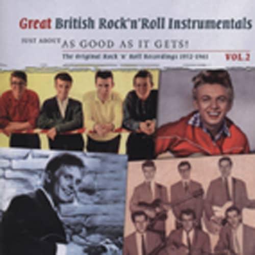 Vol.2, Great British Rock & Roll Intrumentals