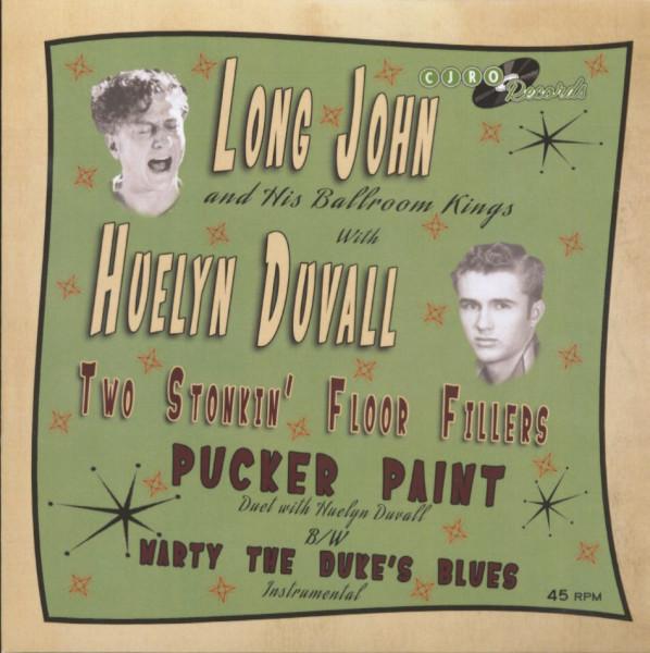 Long John & His Ballroom Kings with Huelyn Duvall (7inch, 45rpm, SC, PS)