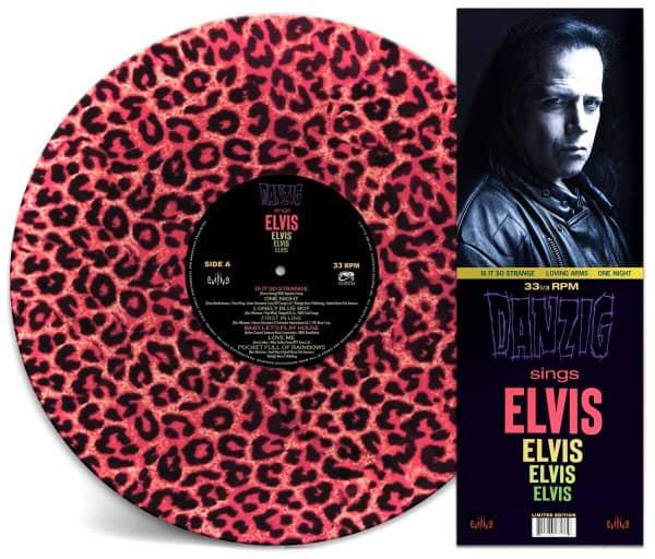 Sings Elvis (LP, Pink Leopard Vinyl, Ltd.)