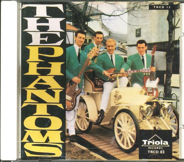Ken Levy & The Phantoms - Mostly Instrumental (CD)