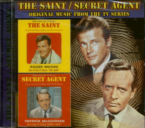 The Saint - Secret Agent (CD)