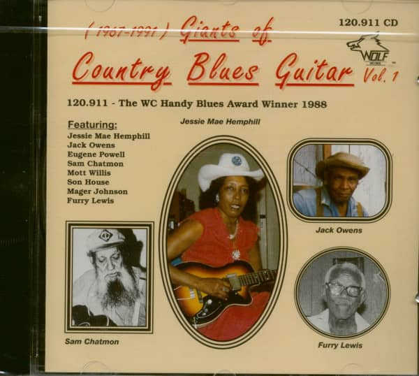 Giants Of Country Blues Guitar Vol.1 (CD)