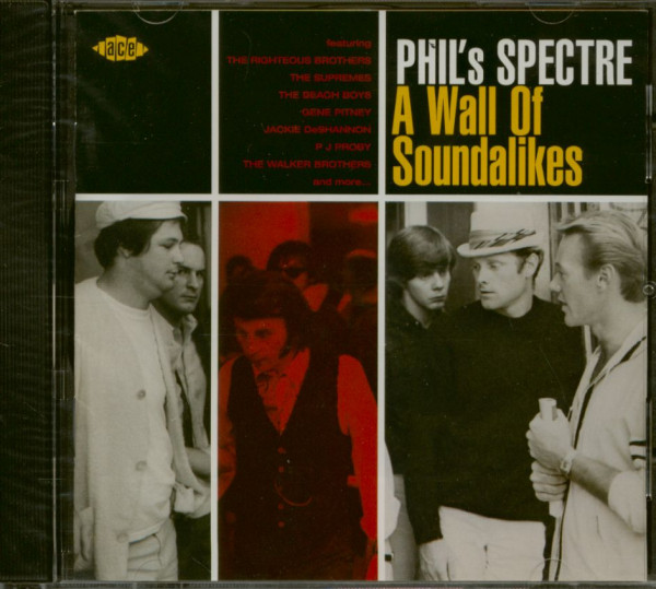 Phil's Spectre - A Wall Of Soundalikes (CD)