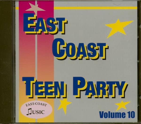 East Coast Teen Party Vol. 10 (CD)
