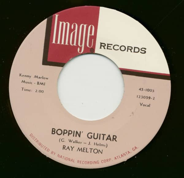 Boppin' Guitar - Who Said I'd Miss You (7inch, 45rpm)