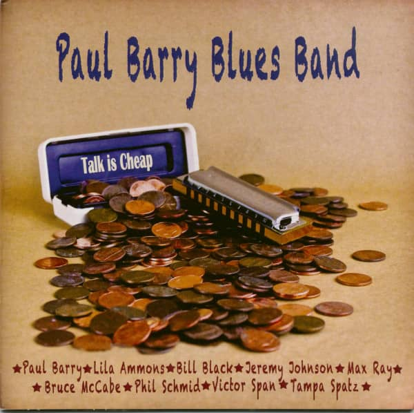 Paul Barry Blues Band (CD)