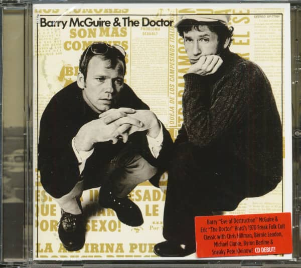 Barry McGuire & The Doctor (CD)
