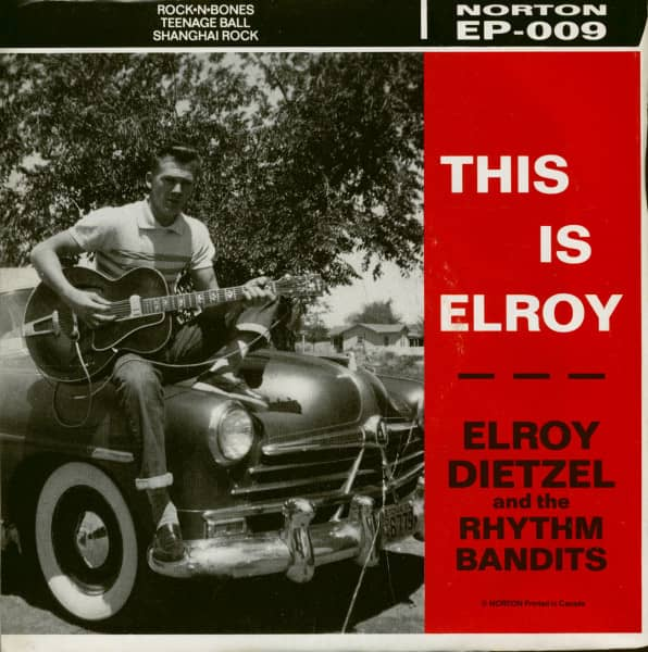 This Is Elroy (7inch EP, 45rpm, PS, SC)