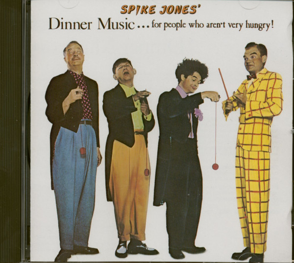 Dinner Music For People Who Aren't Very Hungry (CD)