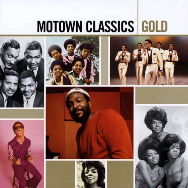 Motown Classics - Gold Series 2-CD