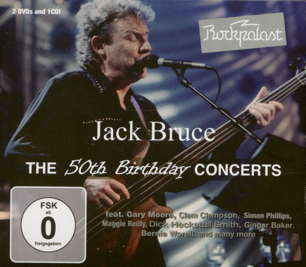 The 50th Birthday Concerts (CD & 2-DVD)